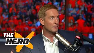 College football is completely chaotic - Joel Klatt offers up solutions to fix the sport | THE HERD thumbnail