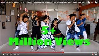 Baby Ko Bass Pasand Hai Song | Sultan | Salman Khan | Anushka Sharma | Badshah ,THE DANCE MAFIA thumbnail