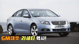 [자동차 역사] GM대우 라세티 역사!