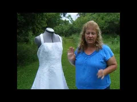 CAMO Wedding Dress TRADITIONAL With A Little CAMO