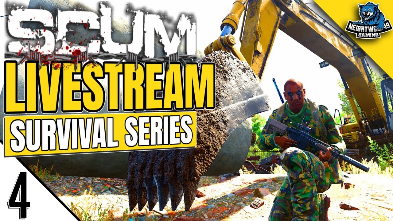 Download Livestream Survival Series: SCUM Multiplayer Gameplay [Season 6, Ep 4]