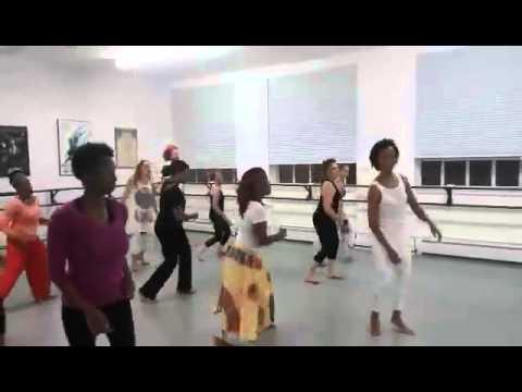 Cleonice Fonseca - Afro-Brazilian Dance Class