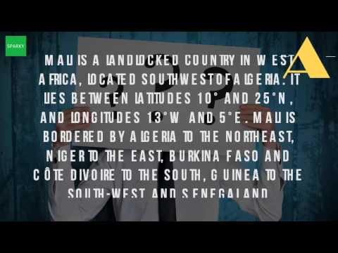 Where Is Mali Located In Africa YouTube - Where is mali located