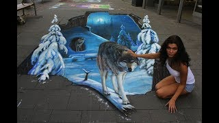 25 Pieces of AMAZING Street Art!!