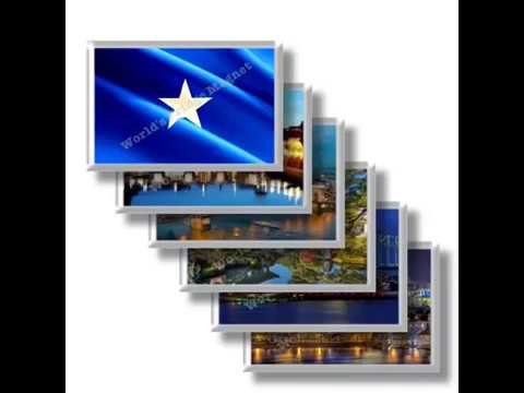 SO - Travels in SOMALIA - rectangular magnets and souvenirs