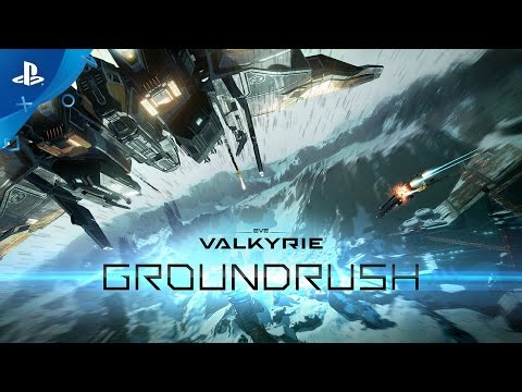 EVE: Valkyrie - Groundrush Update Trailer | PS VR