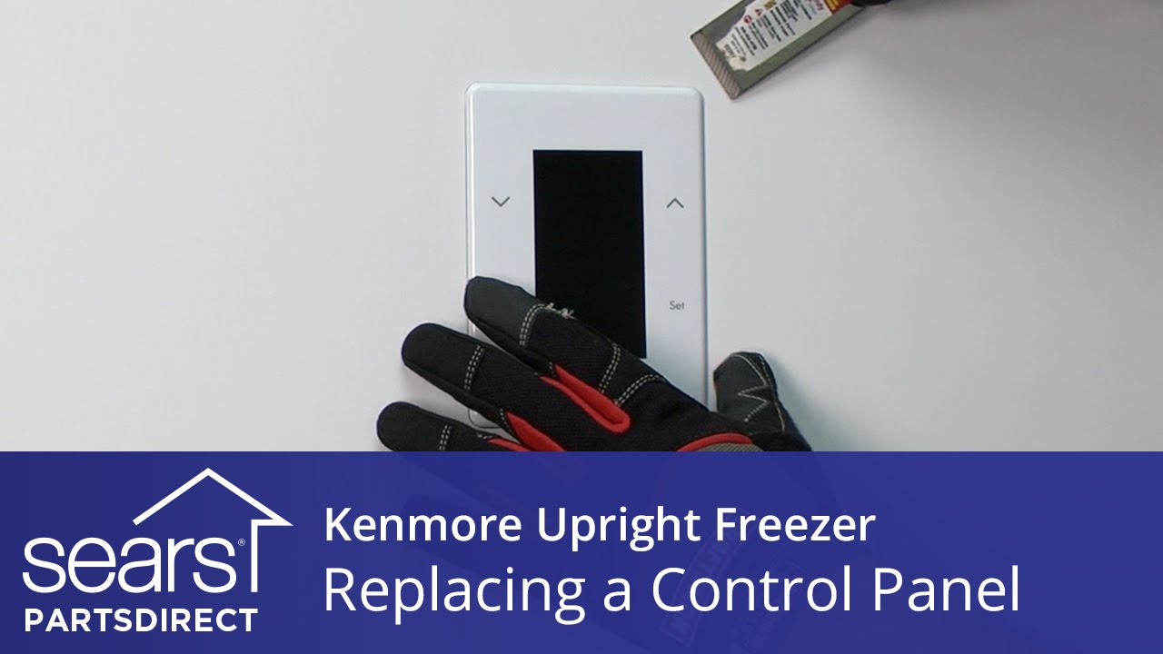 How To Replace A Kenmore Upright Freezer Control Panel Youtube Unit Parts Diagram List For Model 609215810 Searsparts Faucet