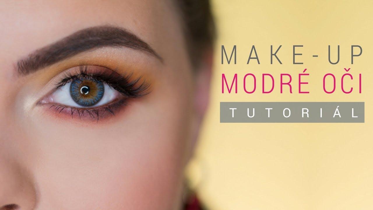edc649f06 AKO NA LÍČENIE MODRÝCH OČÍ | Make-up Tutorial for BLUE EYES - YouTube