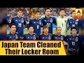Japan Team Cleaned Their Locker Room & Left A Thank You Note After World Cup Loss   ABP News