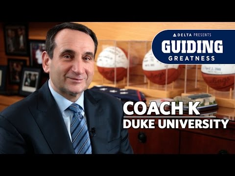 Coach K: Lessons from the Duke Basketball Legend   Guiding Greatness Ep. 1