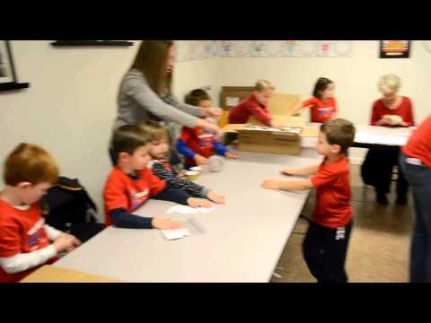 Santa's Little Elves from Wichita Christian School