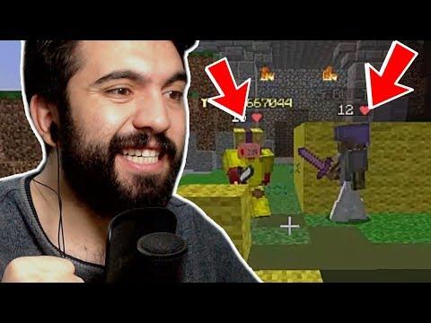 DEFANS YOK BAM BAM !!!   Minecraft: BED WARS