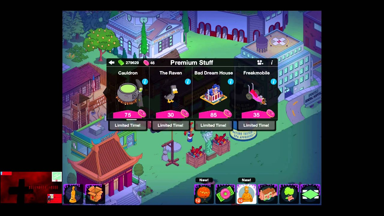 Simpsons tapped out halloween global prizes