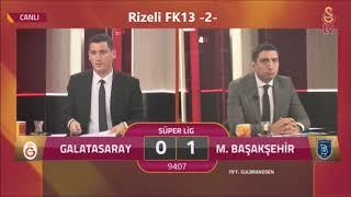 """Galatasaray 0-1 Başakşehir gs Tv Gol Anı - """"22 KASIM"""" Seversin Kasımı-"""
