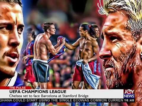 UEFA Champions League - The Pulse Sports on JoyNews (20-2-18)