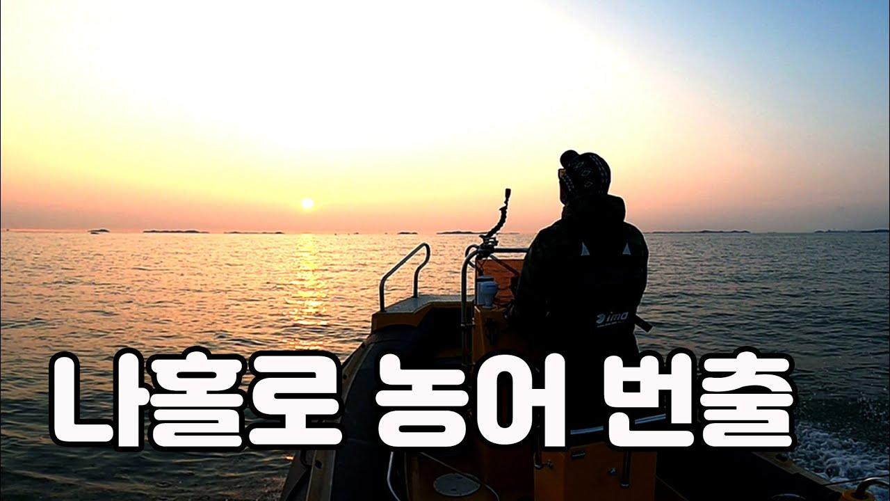 나홀로 농어 번출/ 해무속 농어 보팅/ seabass boat fishing/ シーバスゲーム スズキ