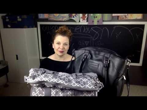 Sarah Wells Breast Pump Bag Review