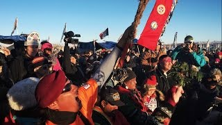 Native Americans rejoice as DAPL construction halts HD