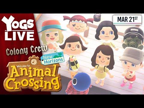 HIDE & SEEK - Animal Crossing W/ Lewis, Leo & Briony! 21/03/20