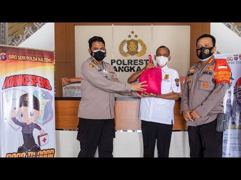 Program Kunjungan Kesehatan Personel (KunKesPers) Ke Polresta Palangkaraya