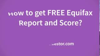 How Check Free Equifax Credit Report And Score