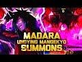 ** UNDYING MANGEKYO SUMMONS ** | ** Naruto Shinobi Collection *