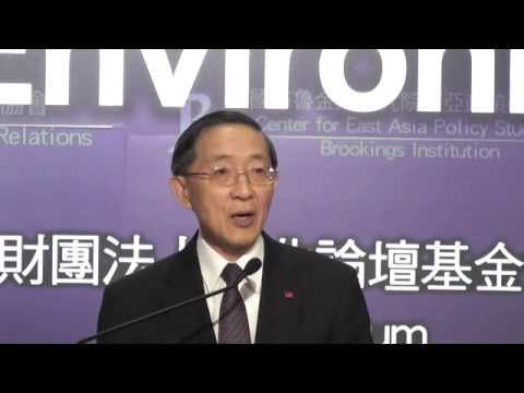 Taiwan's Domestic and External Policy Environment in 2015 --  Opening and Keynote Speech