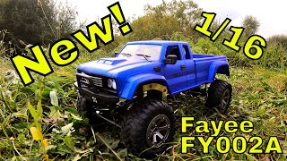 New from Fayee. FY002A 1/16 Budget RC Trail Truck! Unboxing & Review for Banggood.