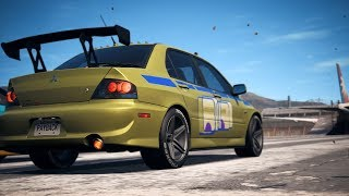 Need For Speed Payback - LV399 Lancer Evo 9 Race Spec, Great Accel but disappointing Handling