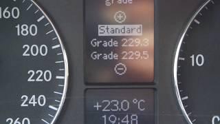 Mercedes benz 2.2 cdi 2005 w203 secret menu inspection reset+drift mode .