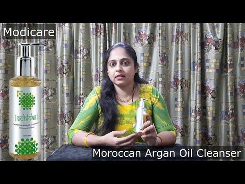 Modicare Moroccan Argan Oil Cleanser Demo In Kannada   Anu S