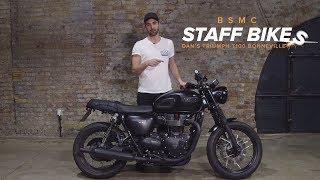 Staff Bikes: Dan's Triumph T100 Bonneville