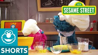 Sesame Street: Corn Bread | Cookie Monster's Foodie Truck