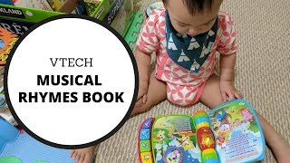 Toy Review Vtech Musical Rhymes Book
