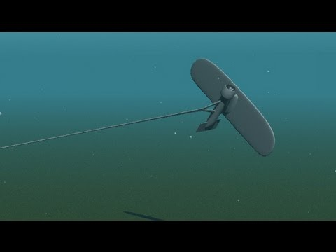 Minesto Tidal Energy dragon animation - YouTube