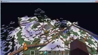 Minecraft PC Gameplay, The world of railways