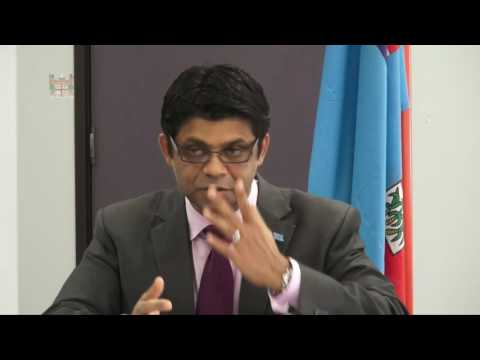 Fijian Attorney-General's Press Conference on the Electoral Commission