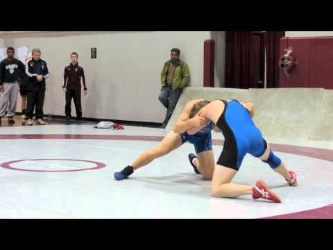 2012 McMaster Invitational: 72 kg Scott Christian vs. Brent Davies