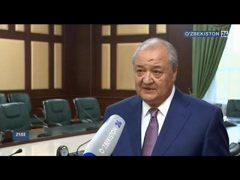 Abdulaziz Kamilov O'zbekiston Prezidentining Sindaodagi uchrashuvlari yuzasidan izoh berdi