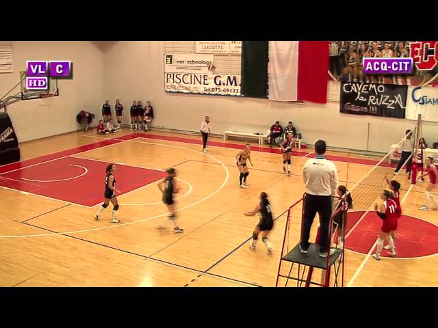 Acquasparta vs Città di Castello - 2° Set