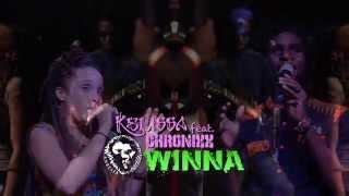 Смотреть клип Kelissa Ft. Chronixx & Kazemde - Winna