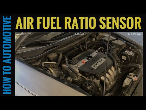 How to Replace the Air Fuel Ratio Sensor on a 2002-2007 Honda Accord with 2.4L Engine