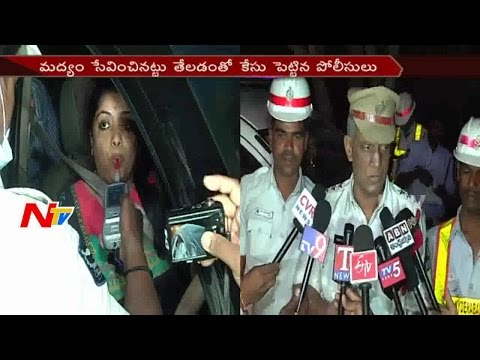 Drunk & Drive Women Hulchul in Jubilee Hills || Seized 12 Vehicles || Hyderabad || NTV