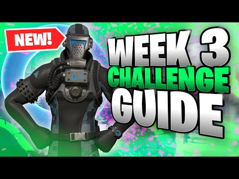 *NEW* Fortnite Season 3 WEEK 3 Challenge GUIDE | Floating Rings AND MORE!