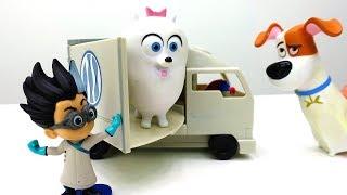 Тайная жизнь домашних животных - Видео с игрушками