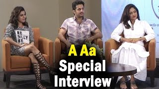 a-aa-movie-team-special-interview-samantha-nitin-trivikram-srinivas-ntv