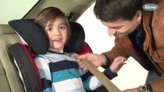 KID II - Het stoeltje installeren