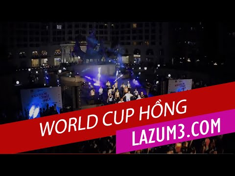 WORLDCUP HỒNG vs ZUMBA HANOI (Royal City) | Nhảy zumba