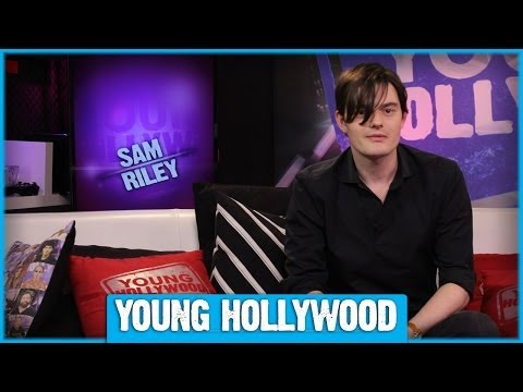 "MALEFICENT's Sam Riley on Being Angelina Jolie's ""Wing Man""!"