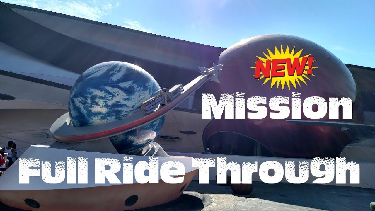 RELAUNCHED Mission SPACE (Epcot) New Mission - Ride with ...